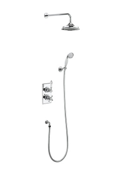 Trent Thermostatic Two Outlet Concealed Divertor Shower Valve